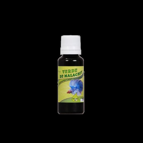dezinfectant acvarii verde de malachit 30 ml promedivet
