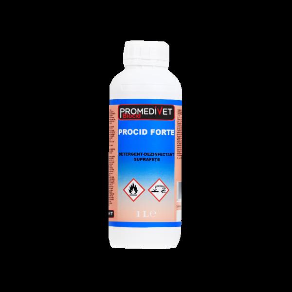 procid-forte-promedivet-1L-Detergent-dezinfectant-suprafete-promedivet