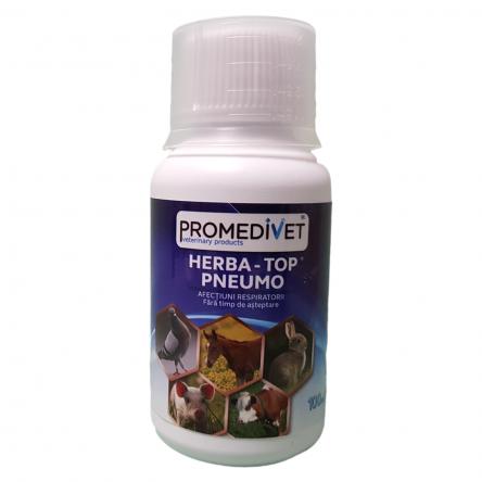 HERBA-TOP PNEUMO  – afecţiuni respiratorice – 100 ml