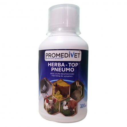 HERBA-TOP PNEUMO  – afecţiuni respiratorice – 200 ml