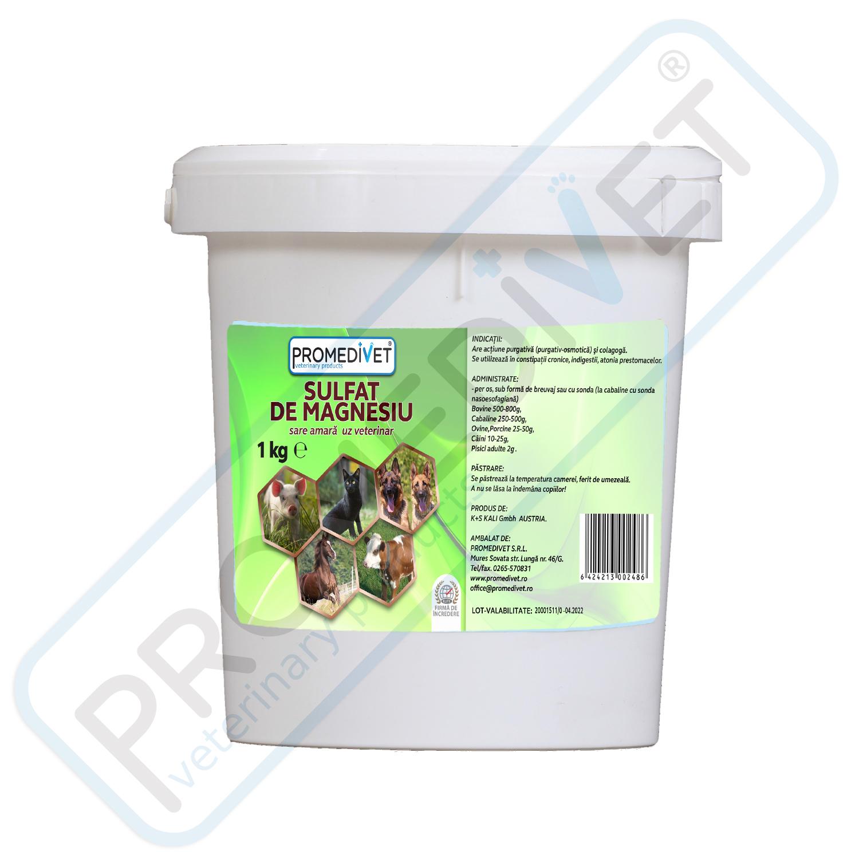 sulfat de magneziu purgativ